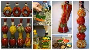 Where To Buy Decorative Bottles With Vegetables