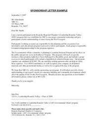 Proposal Letter For Sponsorship Sample For Event Sponsorship Proposal Letter Sponsorship Proposal Letter