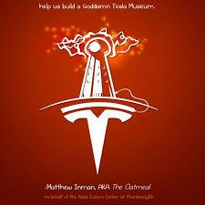 Tesla Logo Designer Elon Musk Donates 1 Million To Nikola Tesla Museum After