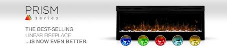 prism series linear electric fireplaces