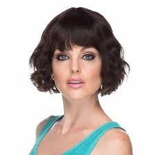 Beshe Wig Color Chart Drew Premium Remy 100 Human Hair Wig Wave Chin Length Bob With Bang 18879034040 Ebay
