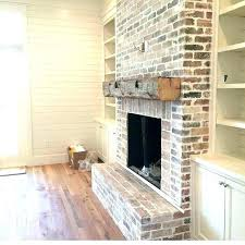 brick tiles for fireplace idea looking tile tle