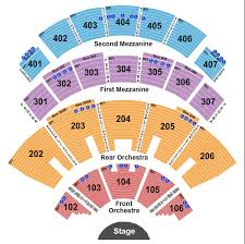 Grace Rainey Rogers Auditorium Seating Chart Sting Tickets Sting 2019 Scorebig Com