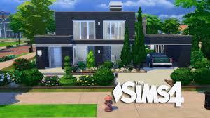 Sims House Design The Sims 4 Modern Simple Design House Build