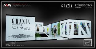 Grazia Design Grazia Robinson Activation Stand Festival City Dubai