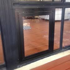 custom door glass dog door center