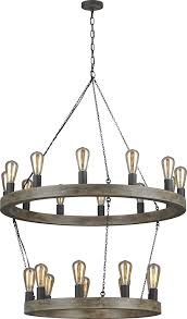 feiss f3934 21wow af avenir contemporary weathered oak wood antique forged iron hanging loading zoom