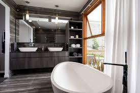 ultra modern bathroom designs. Ultra Modern Bathroom Vanity In Polytec Doors Char Oak Ravine Designs T
