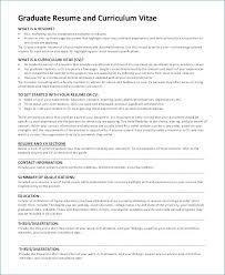 Graduate School Resume Template Microsoft Word Graduate School Resume Template Bitacorita
