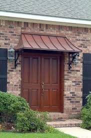 front door awningThe Juliet Gallery  COPPER AWNINGS  Projects  Gallery of Awnings