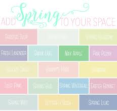 pastel paint colorsAdd Spring to Your Space 20 Fabulous Spring Paint Colors  FYNES