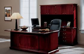 home office furniture cherry. Wonderful Home Image Of Ashley Furniture Office Desk Cherry With Home R