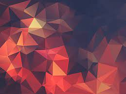 Red Geometric Wallpapers - Wallpaper Cave