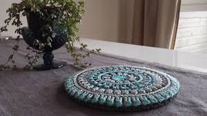 <b>Mandala Style</b> Trivet Cover!   Stitches and Supper