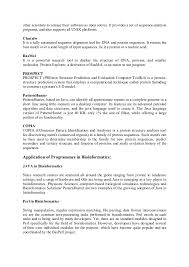 Bioinformatics Resume Sample Home Homework Help Home at Marysville Public Library 66