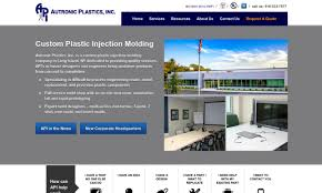 Design Plastics Inc Autronic Plastics Inc Injection Molded Plastics