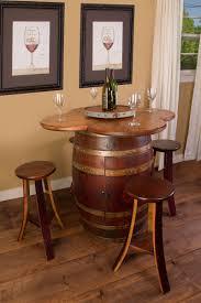 Wine Barrel Kitchen Table Wine Barrel Table Set Cabinet Base