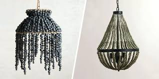 blue beaded chandelier best chandeliers beautiful wood with beads chandelier shades lamp blue light world lighting blue beaded chandelier