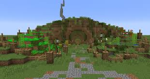 How To Build A Hobbit House Building With Grian Hobbit Hole Youtube