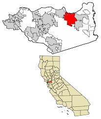 location of antioch in contra costa county california