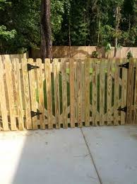 wood picket fence gate. Picture Of Fence Gate To Build A Wood Gates And Portfolio Columns Picket