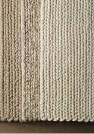 wool rug s above handwoven in india the chunky braided wool rug from restoration hardware is