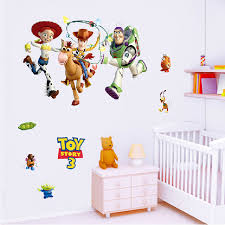 Wall Painting Buzz Lightyear Toy Story Wallpaper Vinyl Wall