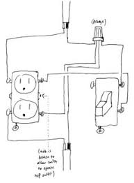 wiring diagram for gfi and light switch the wiring diagram electrical how to add gfci to a box one outlet controlled wiring diagram
