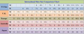 Shoes Sizing Guide