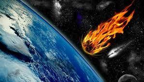 Resultado de imagen de Meteorito causa incendios devastadores