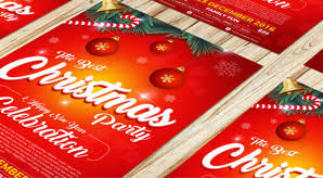 Free Christmas Flyer Templates Download 10 Best Free Christmas Party Flyer Poster Design Template
