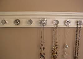 Jewelry Holder Wall Diy Jewelry Holder Simple Yet Pretty Ideas Heroulocom
