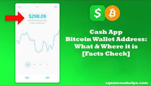 cash app bitcoin wallet address does