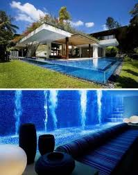 A Glass Encased Basement Pool 36 Things You Obviously Need In Your
