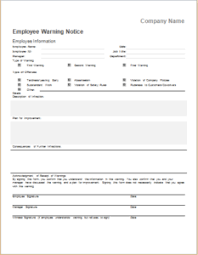 employee warning forms pin by alizbath adam on daily microsoft templates pinterest