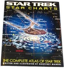 Star Trek Star Charts The Complete Atlas Of Star Trek Geoffrey Mandel