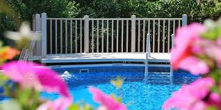best above ground pool ladders and steps