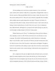 engl profile essay nowy running head a man an artist a 4 pages profile essay