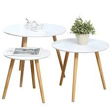 nesting tables set of 3 coffee table