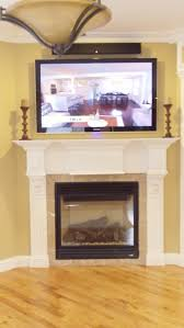 Framed Tv Above Fireplace 39 Best Tv Over Fireplace Ideas Images On Pinterest Fireplace
