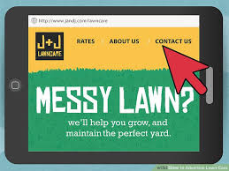 lawncare ad 3 ways to advertise lawn care wikihow