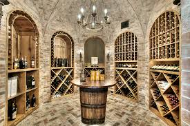 wine cellar chandeliers wine barrel chandelier wine cellar traditional with arches barrel