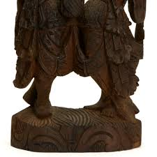 indian asian wood carving 19 20th c possibly late 19th but probably 20th