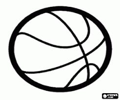 Kleurplaten Basketbal Kleurplaat