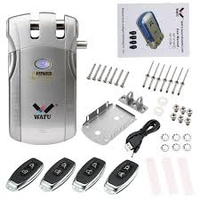 Wafu <b>Wf</b>-<b>010</b> Wireless <b>Electronic</b> Door Lock Keyless Invisible Lock ...