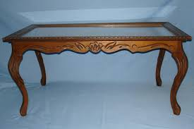 antique wood coffee table with glass top antique blue glass coffee table coffee tables