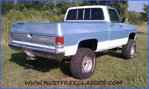 87 K10 Short Bed SWB Silverado fuel injected 6 inch lift 4x4 1987 ...