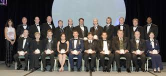 rotary national award for space achievement stellar knarr welsh harris finchum sweeney mulqueen martin francois r ofsky melvin presenting front row liebman thomas peterson
