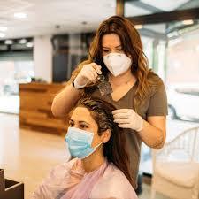 hair salon amid covid 19 pandemic