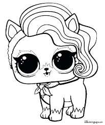My Littlest Pet Shop Coloring Pages Online Free Coloring Sheets